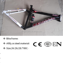 Good quality mtb mountain suspension bike frame steel ,bicycle frame,24/26inch