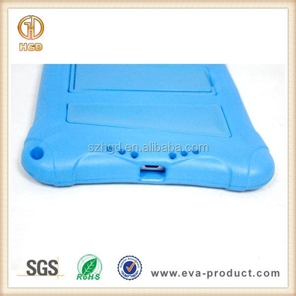 Unbreakable protective EVA Kickstand Back Hard Case For Apple iPad Mini