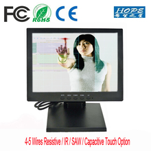 POS interactive display 12.1 TFT LCD touch screen / 12 inch LCD touch monitor