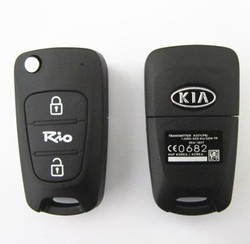 Topbest kia Rio car remote key 433mhz no chip kia smart key