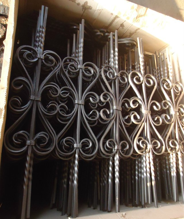 Used Iron Door Grill Designs Interior Wrought Iron Door: Used Wrought Iron Door Gates/interior Wrought Iron Stair