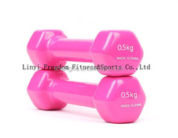 Wholesale colored vinyl dipped dumbbell weight