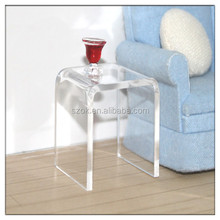 factory price customized transparent acrylic table legs