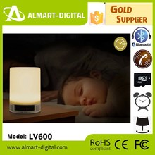 Living Room,Promotional Gift and Gift Giving Use Popular Led Bulb with Bluetooth Speaker Alarm Clock and Led Screen Time Displa