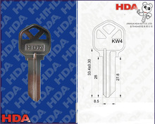 brass door designer key blanks