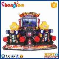 4D Sky Trooper Racing Game Amusement Arcade Room