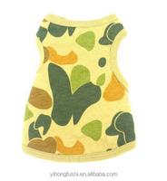 Clamouflage fabric clothing dog for summer hunting dog vest