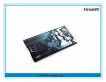 Full color printing usb card credit card usb plastic card usb