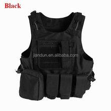 Black Airsoft Tactical Vest