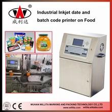 Willita WLD280P Automatic industrial inkjet printer, industrial continuous inkjet printer, chinese inkjet printer 5 lines