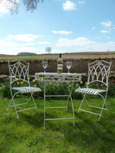 Outdoor patio furniture Table And 2 Chairs