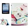 Paypal acceptable wallet leather case for ipad 4 back cover