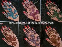 Traditional Hand Bindi Bindi Body Tattoo