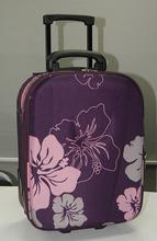 Customized EVA Luggage , Soft Fabric EVA Trolley Luggage