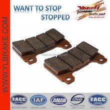 Professional custom production of motorcycle brake pads,Semi-metallic ATV Motorcycle Brake Pads For HONDA-CBR 600 RR/CBR 1000