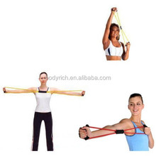 NEW Home Training Resistance Bands Kit Set Abs Fitness Yoga Gym