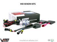 auto accessory 12V 35W 3700lm high brightness 6000k/8000k/12000k blue headlight bulbs 9003 hid kit h7 xenon look