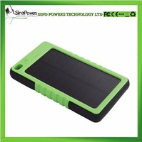 Hot selling mini solar power bank with with keychain 5000mah
