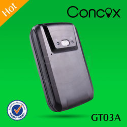 Concox Manufacture GT03A Cost-effective Large Capacity Battery GPS Vehicle Tracker Built-in ON/OFF Power Switch