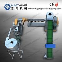 top seller pp pe film plastic recycling granulating machine/pp pe granulating machine/pp film granulating machine