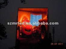 advertising screen Oled on pillar or wall P20 outdoor full color display discreen