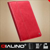 2014 newest leather tablet case for ipad air cover