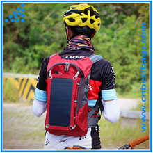 solar panel backpack Powered Backpack with Battery Portable Charger