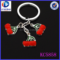 china factory low price wholesale eco-friendly fruits key ring alibaba