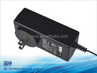 45w 12v 15v 19v 24v wall plug power adapter /charger with CE/UL/CUL/FCC/PSE/GS/SAA certificates