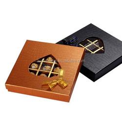 Elegant design popular empty chocolate gift box wedding gift box
