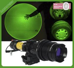 hunting equipment M16 easy adjusted shooting green laser flashlight