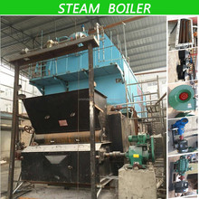 Boiler firewood coal fired or biofuel fired hot water or steam output