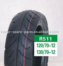 high quality wholesale tyre 120/70-12 130/70-12 scooter parts motorcycle wheel