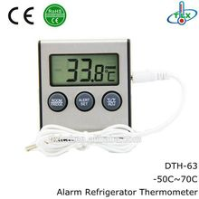 ABS+metal freezer thermometer,magnetic electronic freezer thermometer to -50 degree,freezer thermometer