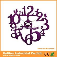 Diseño de moda reloj de pared/de acrílico del reloj