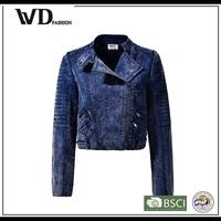 Alibaba online shopping ladies fancy jacket, biker leather jacket