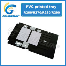 inyección de tinta de la bandeja de tarjeta del pvc para el epson