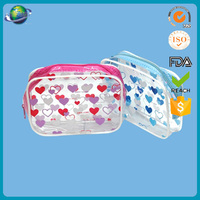 new and hot lady fancy pvc printed hand bags