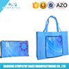 Folding recyclable tote non woven shopping bag,non-woven bag,pp non woven bag