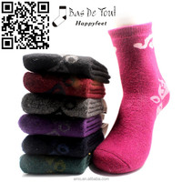 wholesale wool winter thermal soft comfotable women fashion socks cony hair