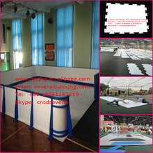 HDPE SHEET for hockey ice rink barrier and fence