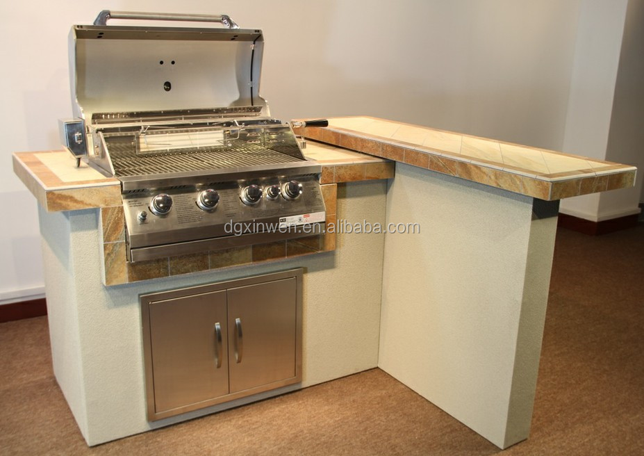 Countertop hibachi grill autos post for Barbecue islands for sale