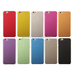 High Quality New Ultra Thin PP Matte Hard Back Skin 0.3mm Clear Wallet for iPhone 6 4.7 inch Case Cover Protector Pouch Bag