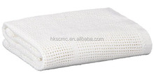 100 Cotton White thermal hospital Blankets