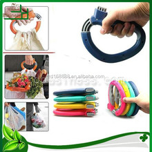 carrying bag handle holder/grocery shopping bag carrier