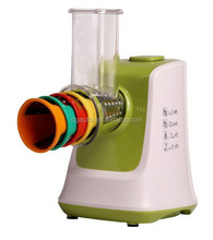 2015 new salad maker with slicing,shredding,fine grinding suitable for baby food supplementary