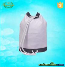 promotional cotton canvas duffel bag/canvas barrel bag