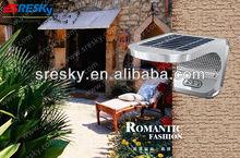 5-6 days lighting solar led outdoor light with pir& ray sensor ESL-08