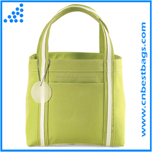 promotional polyester shopping tote bag mini tote for lady