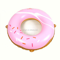 EN13138 Baby PVC Inflatable donut Swim Ring